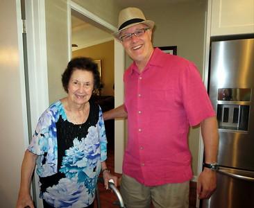 Laura Loranger - 90th b-day, August 2015