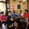 Fran, Dan, Morgan, Lisa, Cory and Brock at Todd's surprise birthday party ( 2014 )