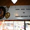 Todd's birthday banner ( 2014 )