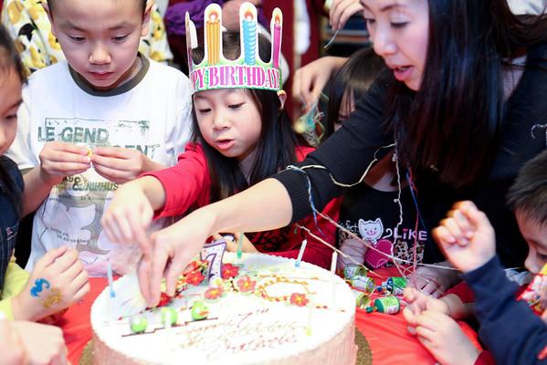 Valerie's 7th birthday