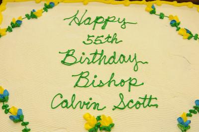 Bishop Scott 55th Birthday Bash