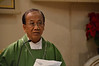 Archbishop Aloysius Sudarso gave Monday's homily
