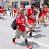 Don Knight | The Herald Bulletin<br /> Youth from Bethesda Missionary Baptist Church walk in the Black Expo parade on Saturday.