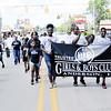 Don Knight | The Herald Bulletin<br /> Kids represent the Trustee Girls and Boys Club during the Anderson Black Expo parade on Saturday.