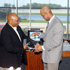 John P. Cleary | The Herald Bulletin<br /> The Anderson Chapter Indiana Black Expo  honors Anderson's 1984 Mr. Basketball Troy Lewis during their Corporate Luncheon.