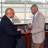 John P. Cleary | The Herald Bulletin<br /> The Anderson Chapter Indiana Black Expo  honors Anderson's 1946 Mr. Basketball Johnny Wilson during their Corporate Luncheon.