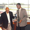 John P. Cleary | The Herald Bulletin<br /> The Anderson Chapter Indiana Black Expo  honors Anderson's 1974 Mr. Basketball Roy Taylor during their Corporate Luncheon.