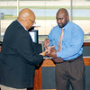 John P. Cleary | The Herald Bulletin<br /> The Anderson Chapter Indiana Black Expo  honors Anderson's 1993 Mr. Basketball Kojak Fuller during their Corporate Luncheon.