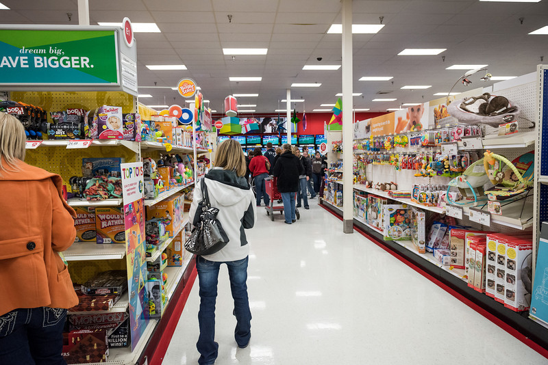 Target opened before midnight for the occasion. There were still Black Friday deals left.