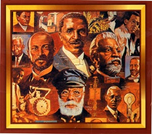 Black History Month at FASEB collage