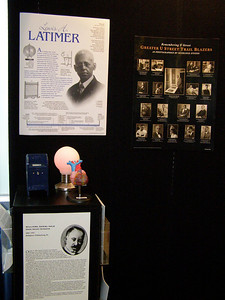 Black History Month at FASEB (top): Lewis Latimer invented the water closet for railroad cars, an electric lamp with an inexpensive carbon filament and a threaded wooden socket for light bulbs.