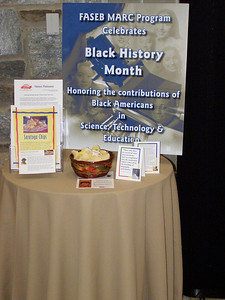 Black History Month at FASEB: Saratoga Chips on display. It is believed that the original potato chip recipe was created by Native American/African American chef, George Crum, at Moon's Lake House near Saratoga Springs, New York, on August 24, 1853.