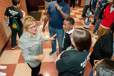 Black History Month Quiz Bowl @ West Charlotte High 2-24-18 by Jon Strayhorn