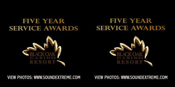 Black Oak Casino 5 Year Service Award