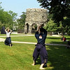 Warming Up <br /> Adam Mitchell, Chief Instructor of the Jinenkan Kosei Gogi Dojo in Mahopac, NY and his students