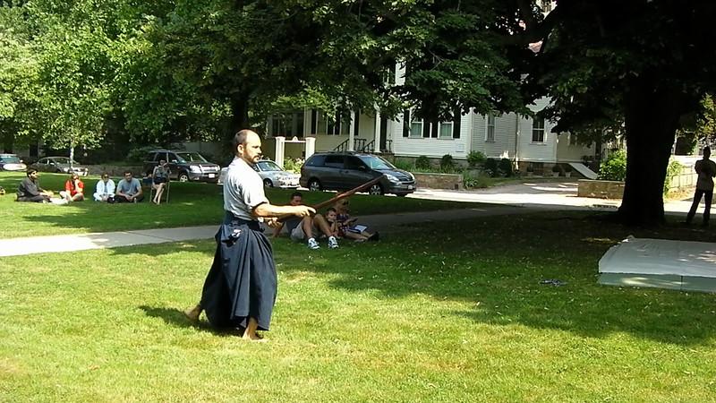 Adam Mitchell, Chief Instructor of the Jinenkan Kosei Gogi Dojo in Mahopac, NY and his students