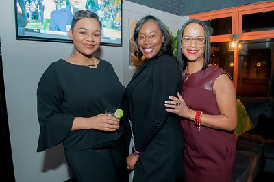 Black Women In PR Happy Hour @ Loft & Cellar 1-31-18 Jon Strayhorn