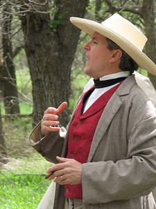 Actor portraying a free stater