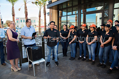 Blaze Pizza Ribbon Cutting Yorba Linda Chamber Of Commerce event photography