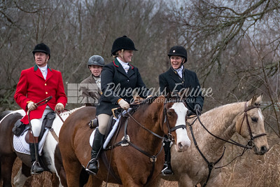The Long Run Woodford Hounds Riders at Shakertown Village, Harrodsburg, Kentucky 11.24.18 Photos by Laura Palazzolo