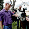 Blessing of the animals in Longmont