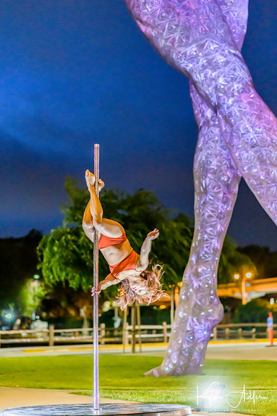 Performer & Choreographer: Grace Garcia<br /> Title of Dance: Ain't No Sunshine