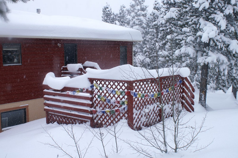 Post-blizzard, Dec 21, 2006, Nederland area, Colorado