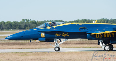 Commander of the Blue Angels Show