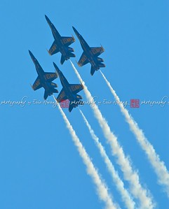 Four jets in formation