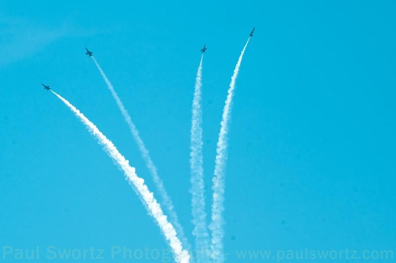 Blue Angels in Seattle - 2009