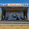 The Blue Crab Festival main entertainment stage is located across from the St. Johns River Center. Fran Ruchalski/Palatka Daily News