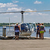 "Helicopter rides were one of the favorite additions to the Blue Crab Festival with flights taking off all day and night. According to the young man who just got off, it was ""so awesome!"" Fran Ruchalski/Palatka Daily News"