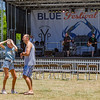 Georgia and Michael Starr of Palm Coast couldn't help but dance to the sounds of Fat Cactus on the main stage on Saturday afternoon. Fran Ruchalski/Palatka Daily News
