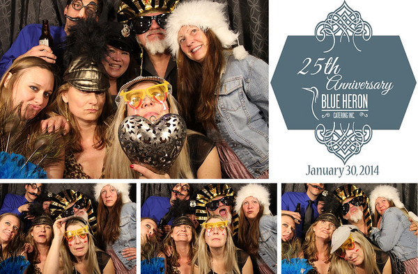 Blue Heron 25th Anniversary Party 1.30.14 Photo Strips