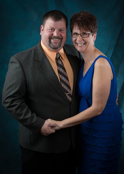John and Sue Von Rudin