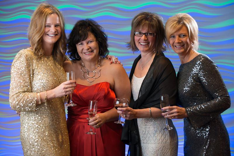 Julie Baumgart, Lori Mattfield, Denise Tappe and Sheri Johnson