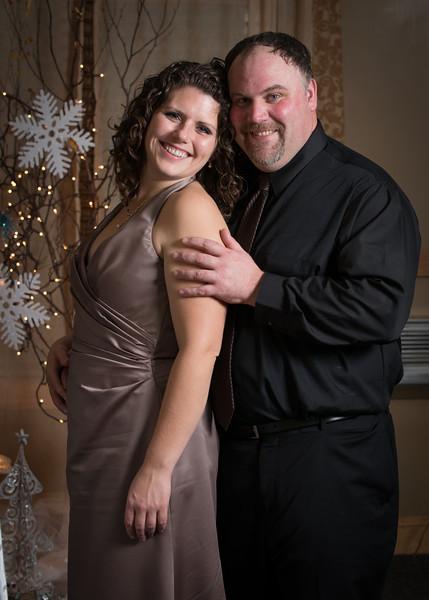 Frank Warfel and Brenda Johnson