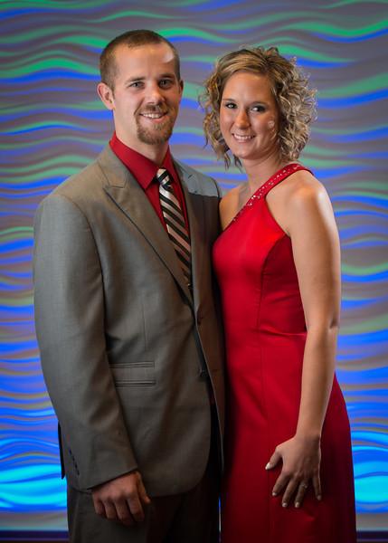 Zach Foltz and Jessica Vulkelich