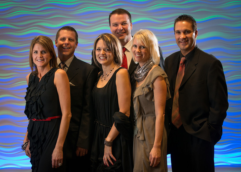 Penny and Tim Birkeland, Deanna and Jeremy Kovash, Cindy and Dale Diebert