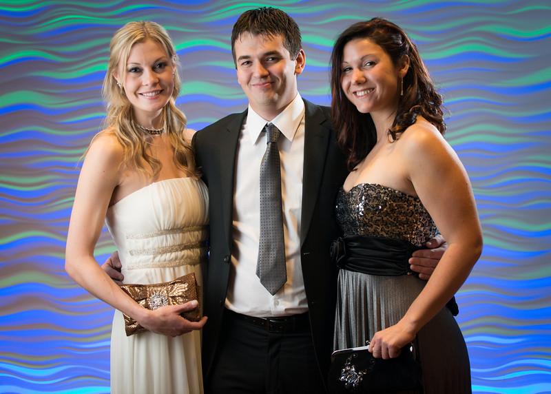 Ashley Ware, Zach Scofield, Laura Fiegen