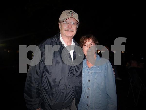 James Devine and Julie Heckman
