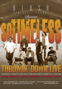So Timeless Performs Blush SJ  March 14th 2013