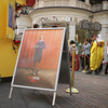 The Bluth Banana Stand hits Los Angeles as part of the Arrested Development World Tour promotion by Netflix.