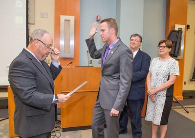 Kevin Przystawski Swearing In Ceremony - Aug. 2016