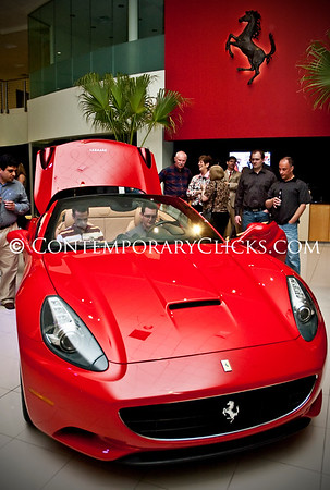 Boardwalk Ferrari California Unveiling