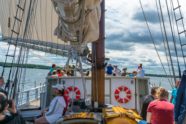 Sailing On The Manitou