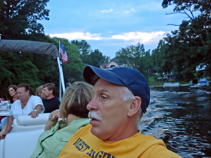 Boating on The Portage Lakes