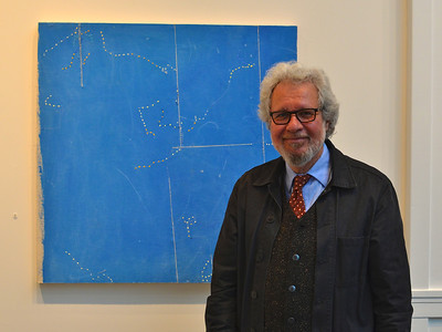 Bob Oppenhiem Dot by Dot Exhibit at Trustman Gallery