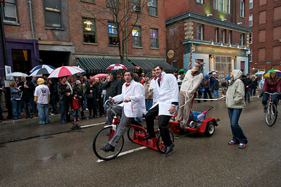 The parade at Bockfest on Friday