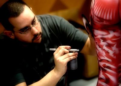 Paul Roustan, Artist - 2011 NABPC